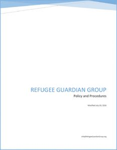 Title Page from the Guardian Group Policy and Procedures Manual